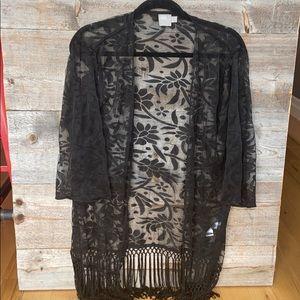 ASOS Kimono Cover up Size 4